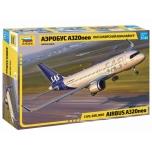 1/144 Zvezda Airbus A320NEO w. SAS new livery decal