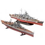 1/700 REVELL HMS HOOD VS. BISMARCK - 80TH ANNIVERSARY