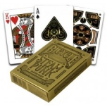 Pokercards Steampunk Gold Premium Bicycle