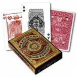 Pokercards High Victorian Red Premium