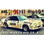 1/24 Opel Manta 400 Gr. B Jimmy McRae 24 Uren van Ypres 1984 Belkits