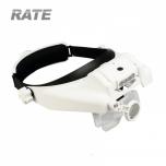 Pealuup Pro Helmet LED valgustus, 6 läätse, USB laadimine