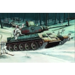 1/16 TRUMPETER T-34/76 MODEL 1942 -INTERJÖÖRIGA