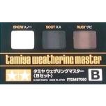 TAMIYA Weathering Master B pigmendi komplekt
