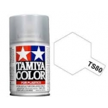 TAMIYA TS-80 FLAT CLEAR MATT LAKK spray
