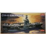 1/800 ACADEMY CVN-69 USS EISENHOWER
