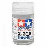 Tamiya akrüülilahusti X-20A (46 ml) Thinner