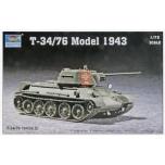 1/72 TRUMPETER T-34/76 MOD.1943