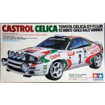 1/24 TAMIYA Castrol Toyota Celica GT-Four RC ST185 WRC Monte Carlo Rally Winner