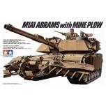 1/35 TAMIYA U.S. M1A1 Abrams miinisahaga