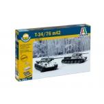 1/72 ITALERI T34/76 m42 FAST ASSEMBLY