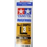 Tamiya stüreenist L-profiilvardad 3mm 6tk modeleerimiseks
