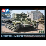 1/48 TAMIYA British Cruiser Tank Mk.VIII, A27M Cromwell Mk.IV