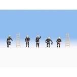 1/87 Noch Tuletõrjujad (mustad ülikonnad) H0