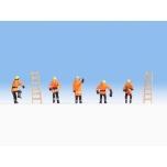 1/87 Noch Tuletõrjujad (oranšid ülikonnad) H0