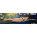 1/48 TRUMPETER DKM U-Boot U-552 Type VIIC (140cm)