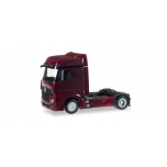 1/87 Mercedes-Benz Actros Bigspace rigid tractor, wine red HERPA