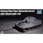 1/72 TRUMPETER KING TIGER (105mm HENSCHEL TURRET)
