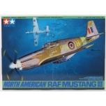 1/48 Tamiya North American RAF Mustang III