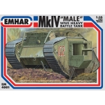 1/35 EMHAR WWI Mk.IV Male