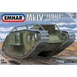 1/72 EMHAR WWI Mk.IV Female