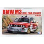 1/24 BEEMAX BMW M3 E30 1989 Tour de Corse rally 4th Chatriot and Perin