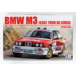 1/24 BEEMAX BMW M3 E30 1989 Tour de Corse rally 4th Chatriot and Perin