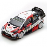 1/43 Toyota Yaris WRC Ott Tänak, Monte Carlo Rally 2018  #8, Spark