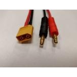 4MM isane - XT60 emane laadimiskaabel