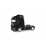 1/87 Volvo FH GL Globetrotter rigid tractor, black Herpa