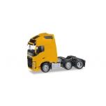 1/87 Volvo FH Gl. XL 6x2 rigid tractor, yellow Herpa