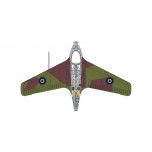 "1/72 Captain Eric ""Winkle"" Brown Me163B - Standard Version Oxford Aviation"