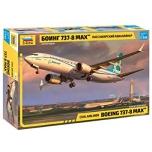 1/144 Boeing 737-8 MAX ZVEZDA