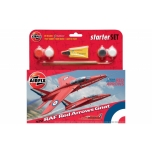 1/72 AIRFIX Airfix RAF Red Arrows Gnat Starter Set