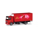 "1/87 Mercedes-Benz Actros L refrigerated box truck with liftgate ""Ferrero Mon Chéri"" HERPA"