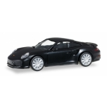 1/87 Porsche 911 Turbo, black Herpa