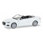 1/87  Audi A5 convertible, ibis white Herpa