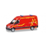 "1/87 Mercedes-Benz sprinter high roof ""Feuerwehr Wilsdruff"" Herpa"