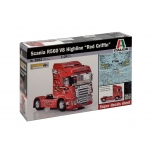 1/24 ITALERI Scania R560 V8 Highline''Red Griffin''