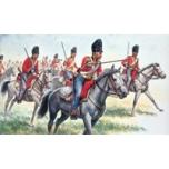 1/72  Napoleonic Wars - British Heavy Cavalry Italeri
