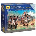 1/72 French Line Infantry Napoleonic Wars (6 fig.) Zvezda