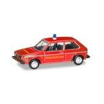 """1/120 VW Golf 1 """"Fire department"""" HERPA"""