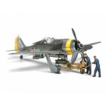 1/48 TAMIYA Focke-Wulf Fw190 F-89 W/Bomb Loading Set