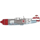 1/72 Lavochkin LA7 Sergei Federovich Dolgushin, 156 Fighter Regiment 1945 Oxford Aviation