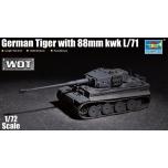 1/72 TRUMPETER Tiger 88mm kwk L/71