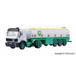 """1/87 H0 2-teljeline sadulveok MB kütuseveo poolhaagisega """"BP""""  Kibri"""