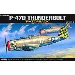 1/72 ACADEMY P-47D THUNDERBOLT(RA)