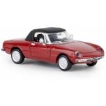 1/87 Alfa Romeo Spider, 1969 /punane/ BREKINA