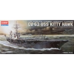 1/800 ACADEMY CV-63 U.S.S. KITTY HAWK