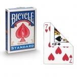 Trikikaardid Bicycle Riderback Blanco/Index (Valge seljaga/Numbritega)